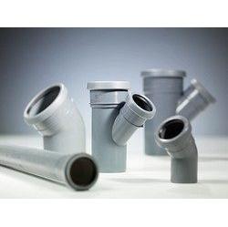 Тройник 30 градусов канализационной трубы PipeLife Comfort 50 мм