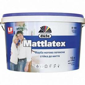 Интерьерная латексная краска матовая Dufa Mattlatex D100 25 л