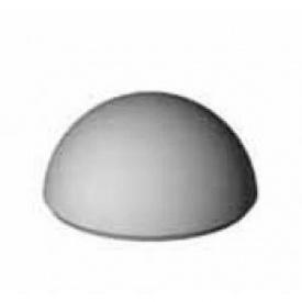 Знижувач швидкості гумовий елемент бічній №2 ІМПЕКС-ГРУП 500х200х50 мм (IMPA332)