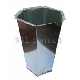 Ведро для урны шестиграной ИМПЕКС-ГРУП 3 кг