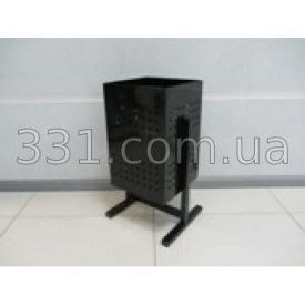 Урна металева квадратна ИМПЕКС-ГРУП 300х500 мм 44 л (IMPA744)