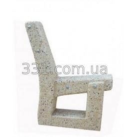 Ножка для скамейки ИМПЕКС-ГРУП декор. Конёк 870 мм (IMPA830)