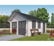 Дом деревянный из профилированного бруса 4.9х5.3