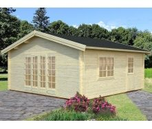 Дом деревянный из профилированного бруса 5.6х5.6