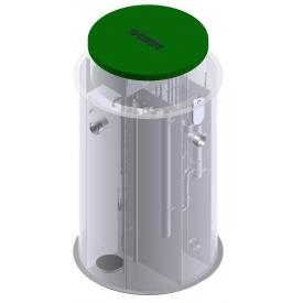 Автономная канализация Оазис Стандарт-20 2370х2450 мм