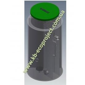 Автономная канализация Оазис Стандарт-75 2250х3450 мм
