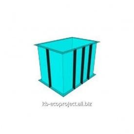 Купель из полипропилена 1,5x1,2x1,6 м