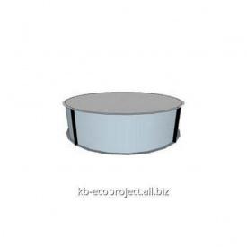 Компенсационная емкость для переливных бассейнов диаметр 2,4м
