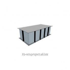 Компенсационная емкость для переливных бассейнов 3,0x1,5x1,0 м
