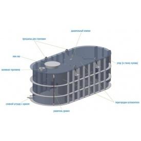 Аренда агроемкости для транспортировки и хранения КАС ЖКУ воды 10 м3