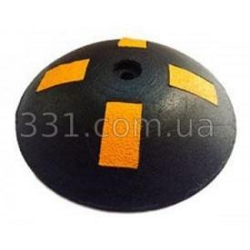 Лежачий полицейский резиновый круглый ИМПЕКС-ГРУП D 200 40 мм (IMPA306)