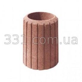 Урна тротуарна бетону червона ІМПЕКС-ГРУП 400 мм (IMPA735)