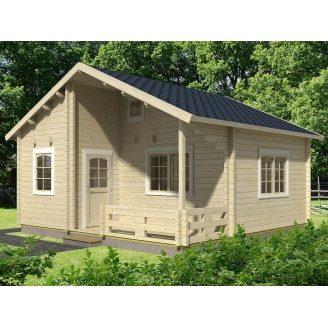Дом деревянный из профилированного бруса 6х6