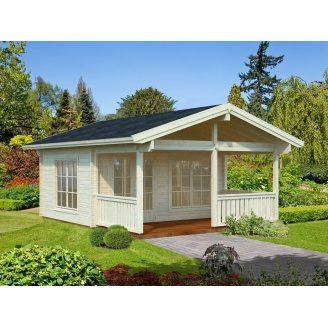 Дом деревянный из профилированного бруса 5х6.5