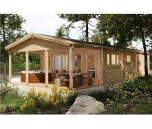 Дом деревянный из профилированного бруса 13х6