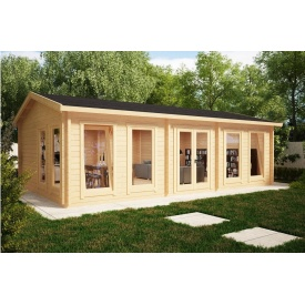 Будинок дерев`яний з профільованого бруса 5х8