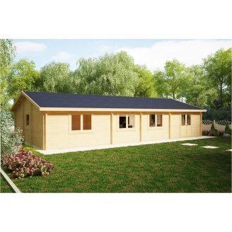 Дом деревянный из профилированного бруса 14х7