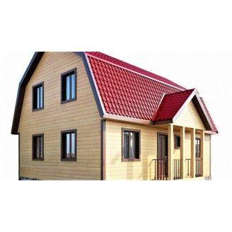 Будинок з профільованого бруса 7×9 м