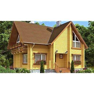 Дерев`яний будинок з профільованого бруса 10х11 м