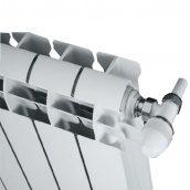 Алюмінієвий радіатор Global Vox 193 Вт 590х95х95 мм бокове підключення