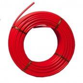 Труба для теплого пола RBM PEX PE-RT с кислородным барьером 16х2 мм 120 м красная