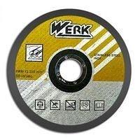 Круг відрізний по металу WERK 230х2,5х22,22 мм