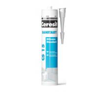 Силиконовый герметик Ceresit Sanitary для ванны и кухни 280 мл прозрачный (1137323)