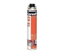 Профессиональная монтажная пена универсальная Ceresit TS 62 750 мл (626503)