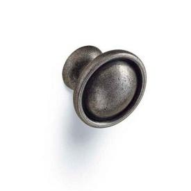 Меблева ручка-кнопка D-1031-33-MAN матовий античний нікель