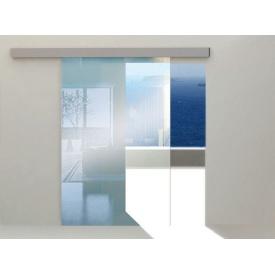 Система для розсувних скляних дверей HERKULES GLASS 100 кг на 1 скляні двері 1040 мм