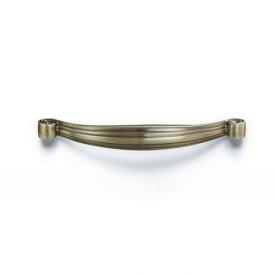 Мебельная ручка D-1011-SAB 128 мм блестящая античная бронза