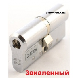 Цилиндр Abloy Protec 2 Hard 127 мм 46х81 мм к/к никель СY 332