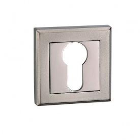 Накладка дверна під циліндр MVM E8 BN/SBN чорний нікель/матовий чорний нікель
