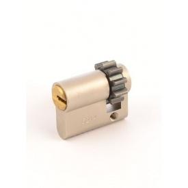 Цилиндр MUL-T-LOCK DIN_HALF_K 7x7 40,5 NST 31х9,5 CGW 5KEY DND77_GREY_INS 0767 BOX_M