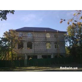 Остекление дома алюминиевыми окнами Алютех