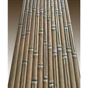 Вагонка липа 85х14х2000 мм з декоративним тисненням Бамбук