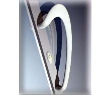 Ручка офісна Stublina біла для металопластикових та алюмінієвих дверей