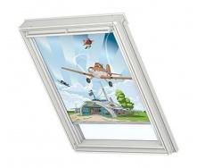 Затемняющая штора VELUX Disney Planes 1 DKL М08 78х140 см (4620)