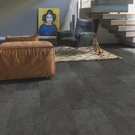 Винил Quick-Step Ambient Click AMCL40035 Black slate