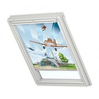 Затемняющая штора VELUX Disney Planes 1 DKL S06 114х118 см (4620)
