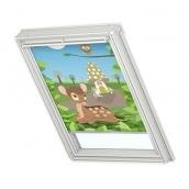 Затемняющая штора VELUX Disney Bambi 2 DKL М08 78х140 см (4613)