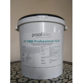 Однокомпонентна бітумна мастика PROOF-TEC PT PMB Professional 1 C-P 30 л