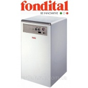 Котел на підлогу з чавунним теплообмінником і атмосферним газовим пальником Fondital Bali RTN 80E