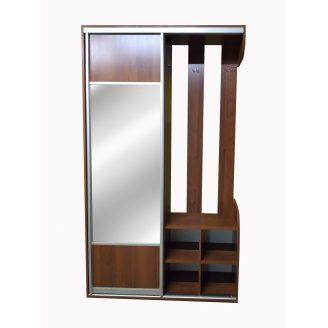Прихожая Бриз Микс-мебель 2250х1200х400 мм орех-эко