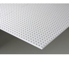 Гіпсокартон Knauf Cleaneo Akustik 12/25R 4SK 12,5х1200х2000 мм білий