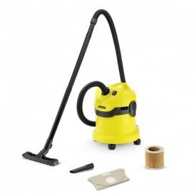 Пылесос для сухой и влажной уборки Karcher WD 2 (1.629-764.0) (STB135)