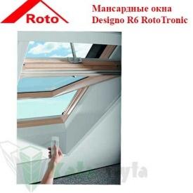 Мансардне вікно Designo R6 RotoTronic