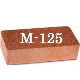 Кирпич М-125 250х120х65 мм