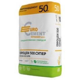 Цемент ПЦ II/Б-Ш-500 Евроцемент 50 кг