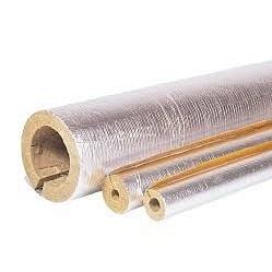 Базальтовый цилиндр PAROC Hvac Section AluCoat T 25 мм
